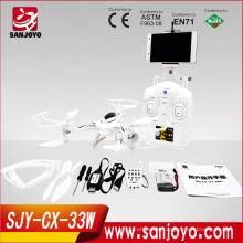 2015 newest arrived CX-33W quadcopter wifi rc professional helicopter remote control quad drone