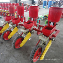 Precision no-till corn seeder cum fertilizer