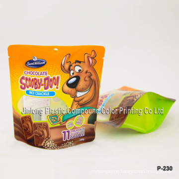 Dog Food Packaging Bag with Bottom Gusset