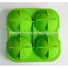 Китай производитель Великий подарок BPA Free Maker Пищевой класс Ice Ball Maker Силиконовые сферические формы для льда / Силиконовые Ice Ball Mold