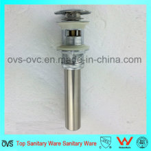 Brass Material Pop up Drainer with Overflow Wholesale Price