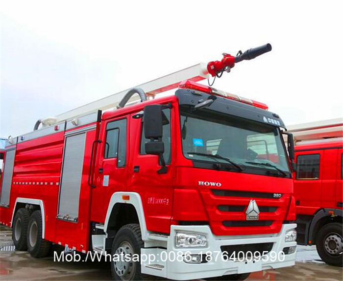 Foam Fire Figher Truck
