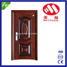 Porte en métal pour la maison, porte d'entrée