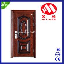 Porta de metal para estilo de casa, porta de entrada