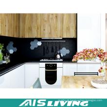 Mobília dos armários de cozinha do folheado do fabricante dos profissionais (AIS-K394)