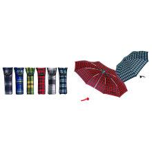 Compruebe los parasoles abiertos manuales compactos (YS-3FM21083403R)