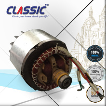 CLASSIC (CHINA) 6.5HP Generator Piezas de repuesto, Rotor y Estator 2.8KW Copper 120mm
