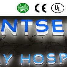 Signe de lettre de canal lumineux LED acrylique haute qualité