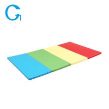 Colchonetas coloridas del ejercicio del gimnasio