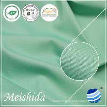 MEISHIDA tela de algodón blanca llana al por mayor del 100% 80/2 * 80/2/133 * 72