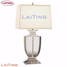 Glass beside table lamp table lamp for hotel
