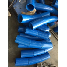 HDPE fabricated 11.25 degree pipe fiffing