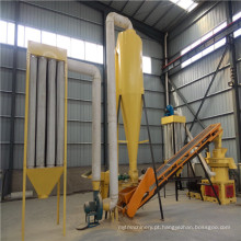 Linha de produtos de madeira da pelota (1 ~ capacidade de 1,5 toneladas) para a venda