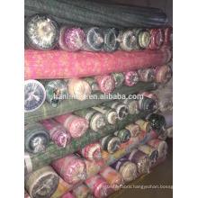 polyester printed chiffon stock fabric in China