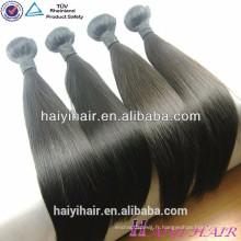 Overnight Ship Cuticle Aligné Cheveux Fournisseurs En Gros Droite Cheveux Remy Brésilienne de Cheveux Humains Bundle
