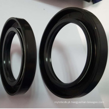 China peças de máquinas de limpador de óleo de vedação de silicone DH / DHS colorido óleo elástico limpador de vedação Viton NBR DH / DHS
