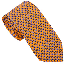 Fashion Custom Made Silk Logo Neckties For Men