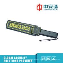Sound / Light / Vibration Handheld-Metalldetektor mit Anti-Skid-Griff