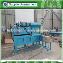 wood shavings press baler machine