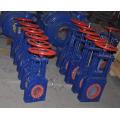 Peças mecânicas, válvula de porta operada pneumática da faca