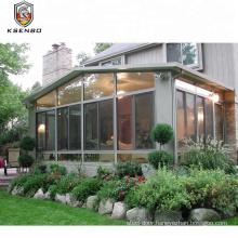 New design popular safety aluminum glass winter garden with aluminium insulation material