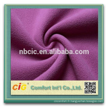 Gros tissu de laine acrylique Micro polaire polaire tissu