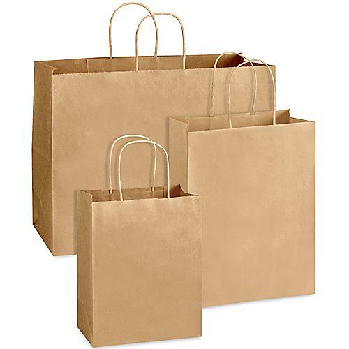 Kraft Paper Bags Customized