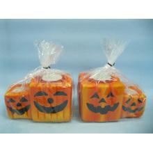 Хэллоуин свеча формы керамических ремесел (LOE2370-12z)