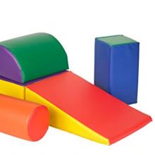 Conjuntos multifuncionais e combinados de jogos infantis suaves