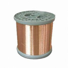 Copper wire, bright and smooth surface