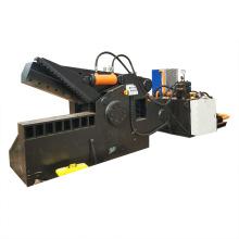 Máquina de corte de metal de barra de acero de residuos hidráulicos