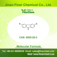 Cas 6825-20-3 | 3,6-Dibromocarbazol | 3,6 - Dibromo - 9H - carbazol | | 6825-20-3 | precio de fábrica; Gran stock