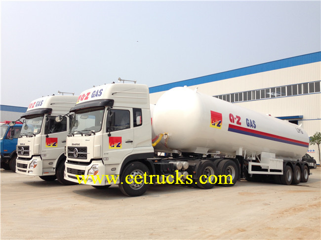 25 TON LPG Semi Trailer Tanks