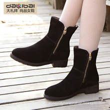 Fashionable safety fancy women denim boots