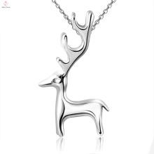 Nouveauté Elk Fashion Design Style 925 Sterling Silver Pendant