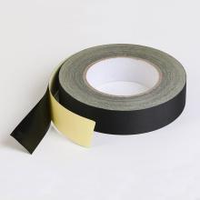 Cinta adhesiva de tela de acetato aislante negra