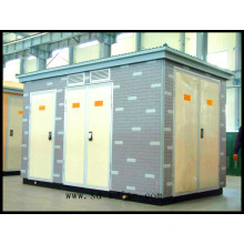 Box-Type Power Transformer for Power Supply