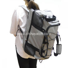Foldable travel bag with wheels for promotion
