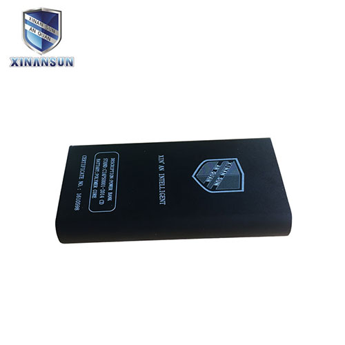Aluminium light power bank