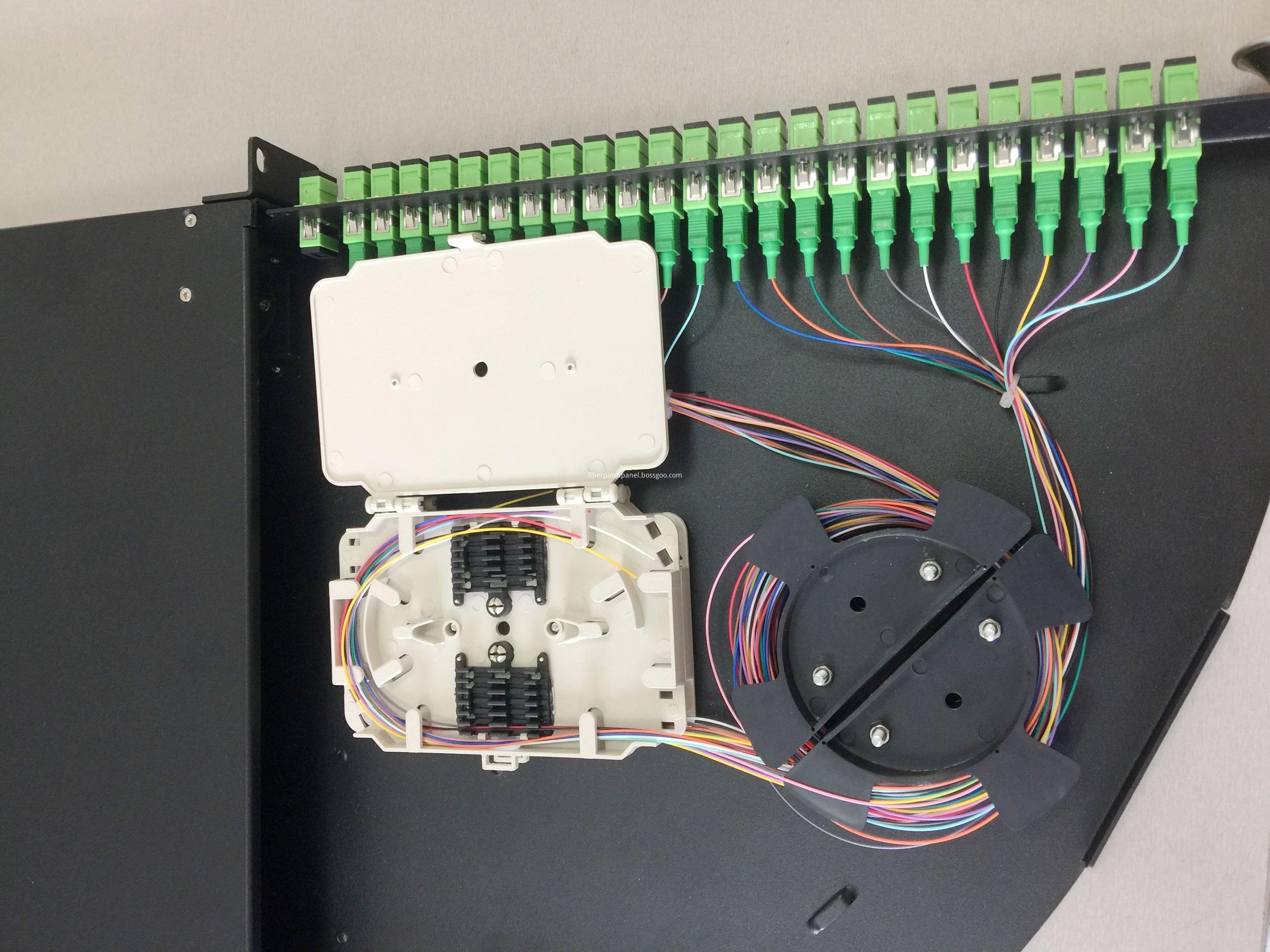 19 inch plc splitter box