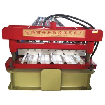 Trapez- und gewellte Ibr-Dachblech-Walzenformmaschine