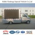 Euro4 Dongfeng 3.5cbm camión de publicidad móvil con buena calidad