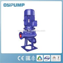 Pompe d'égout submersible verticale submersible de drainage