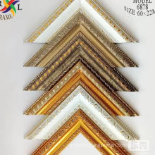 Factory price ornate wedding frames photo design decoration ps picture frame moulding/profile/stick/strips