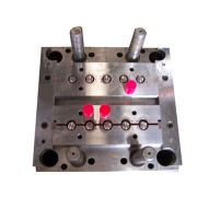 Plastic mould for plastic products making, processed by mould and plastic injection machine