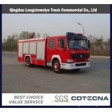 HOWO 4X2 8000L Water Tanker Fire Truck
