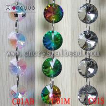 Glass Chandelier beaded chain