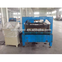 stone powder roof tile sheet roll forming machine