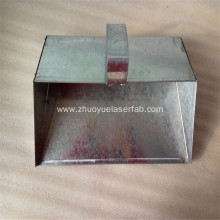 Galvanized Metal Dustpan Fabrication