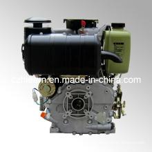 Air-Cooled Diesel Engine Luxury Type Green Color Spline Shaft (HR188FAE)
